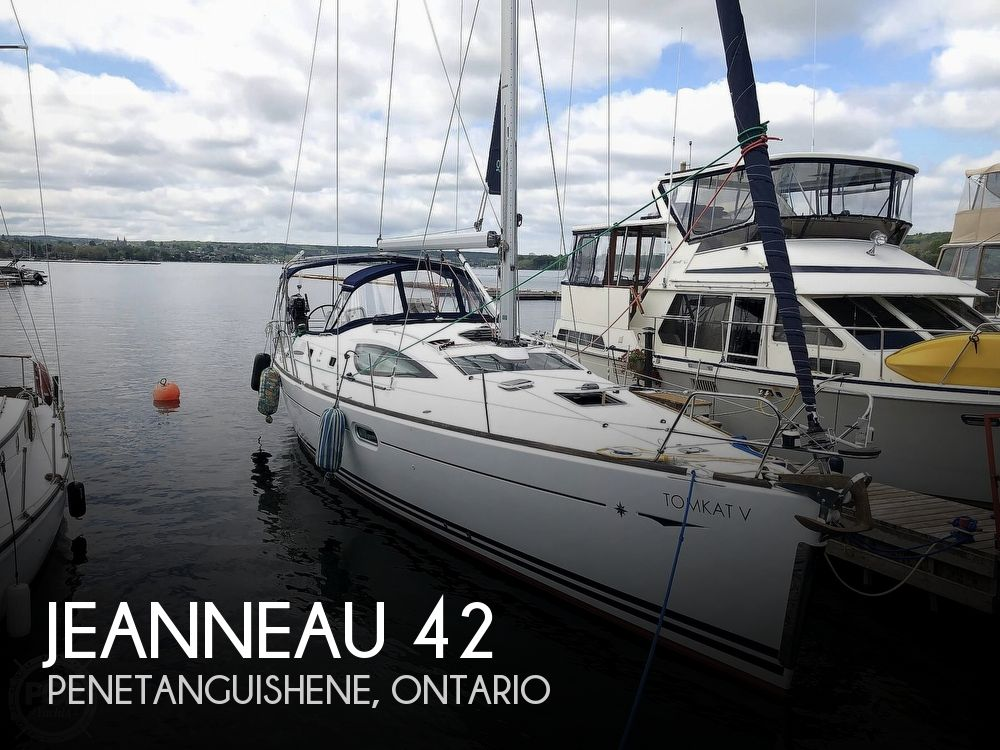 2008 Jeanneau boat for sale, model of the boat is 42 DS Sun Odyssey & Image # 1 of 40
