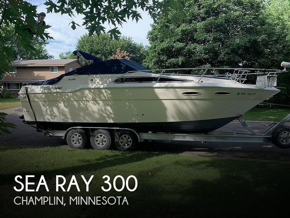 Used Sea Ray 300 Sundancer Boats For Sale by owner   1987 Sea Ray 300 Sundancer