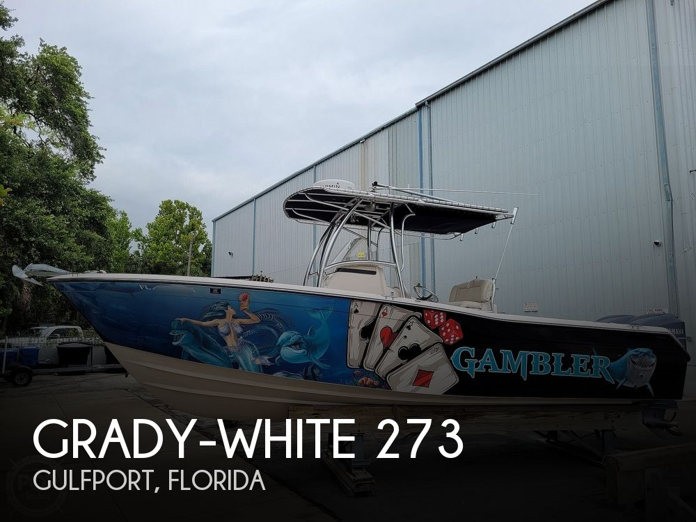 2008 Grady-White boat for sale, model of the boat is 273 Chase & Image # 1 of 40