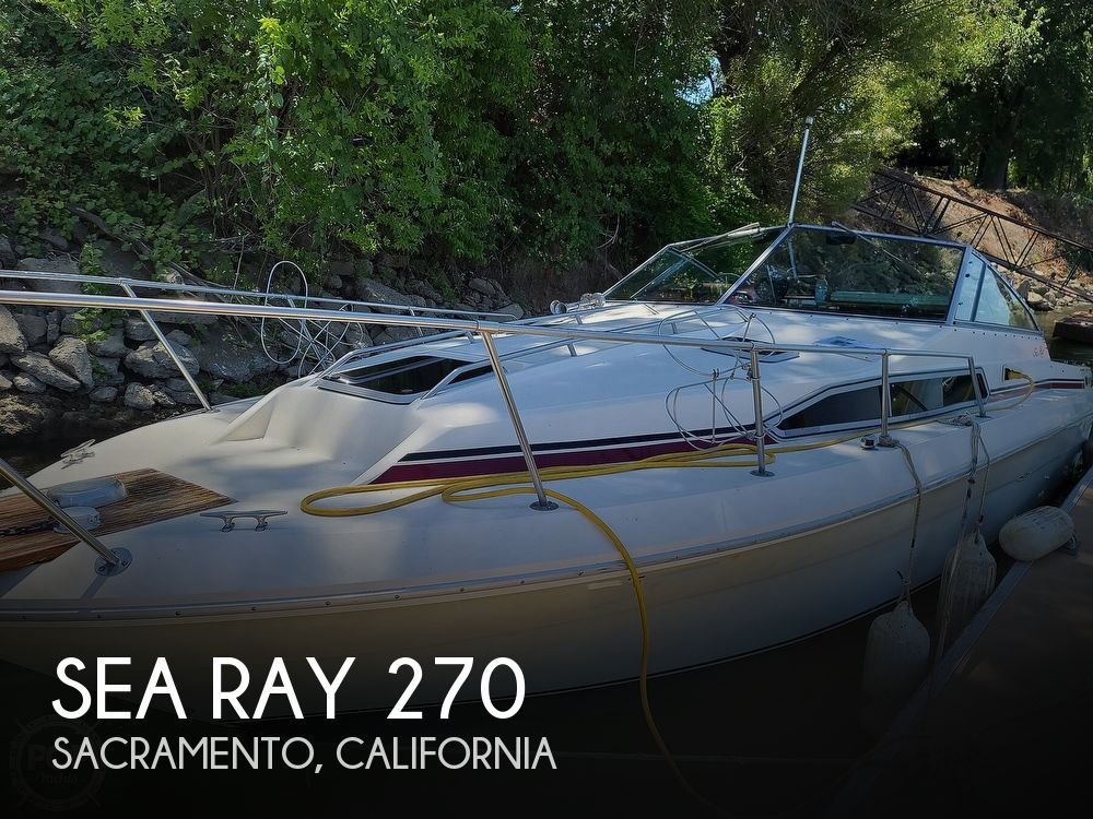 1987 Sea Ray boat for sale, model of the boat is 270 & Image # 1 of 40