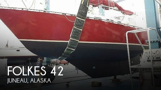 1990 Folkes boat for sale, model of the boat is 42 & Image # 1 of 19