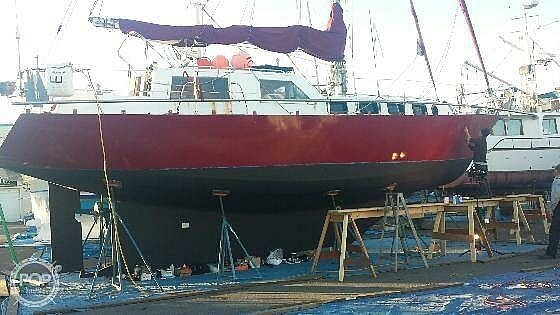 1990 Folkes boat for sale, model of the boat is 42 & Image # 4 of 19