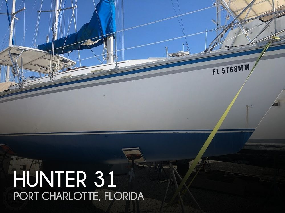 Used Hunter Sailboats For Sale in Florida by owner   1984 Hunter 31