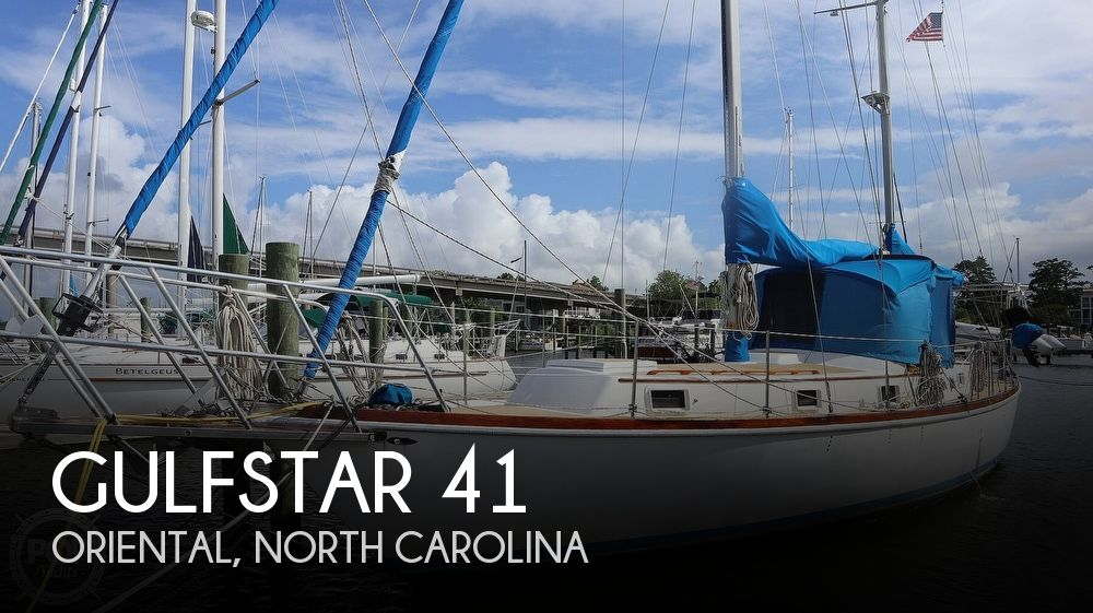 1974 Gulfstar boat for sale, model of the boat is 41 Center Cockpit & Image # 1 of 40