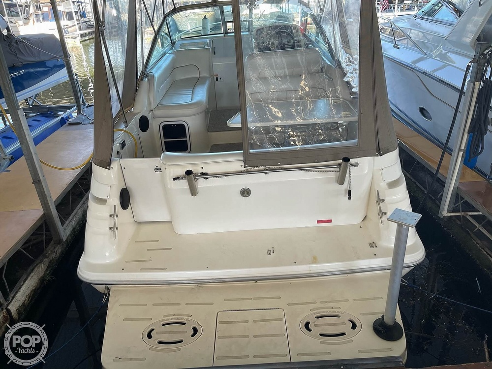 1996 Sea Ray boat for sale, model of the boat is 270 Sundancer & Image # 20 of 40