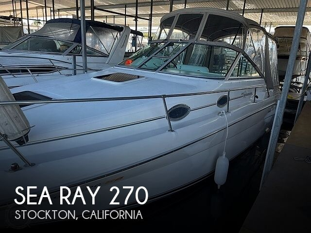 Used Sea Ray 270 Boats For Sale in California by owner   1996 Sea Ray Sundancer 270
