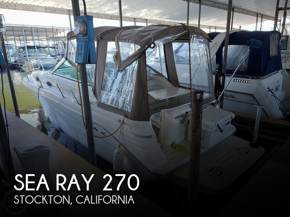 1996 Sea Ray boat for sale, model of the boat is 270 Sundancer & Image # 1 of 40