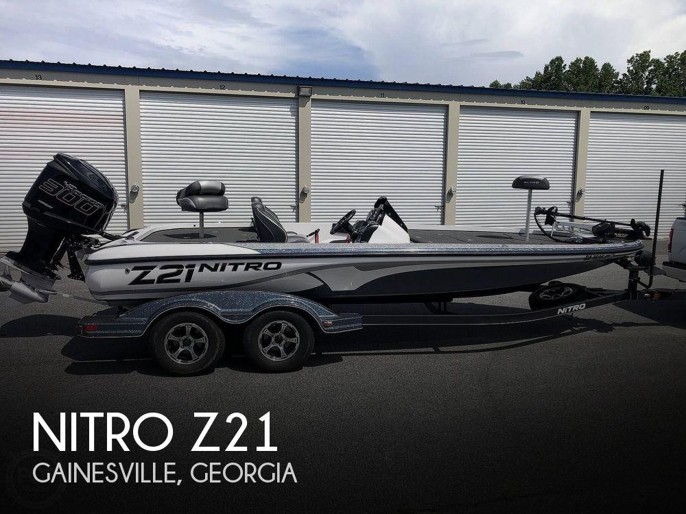 2018 Nitro boat for sale, model of the boat is Z21 & Image # 1 of 40