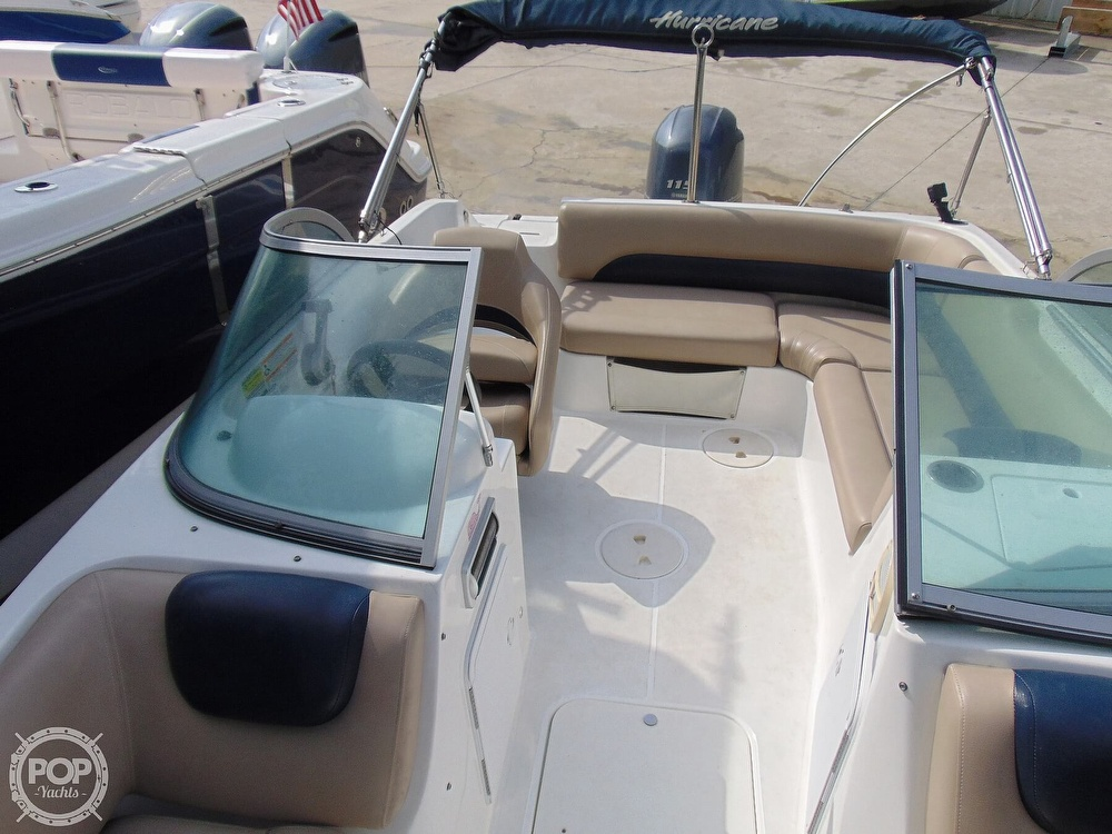 2016 Hurricane boat for sale, model of the boat is 187 Sundeck & Image # 7 of 40