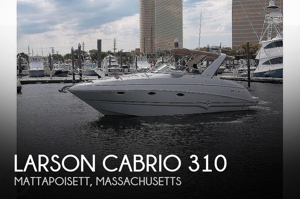 2003 Larson boat for sale, model of the boat is Cabrio 310 & Image # 1 of 40