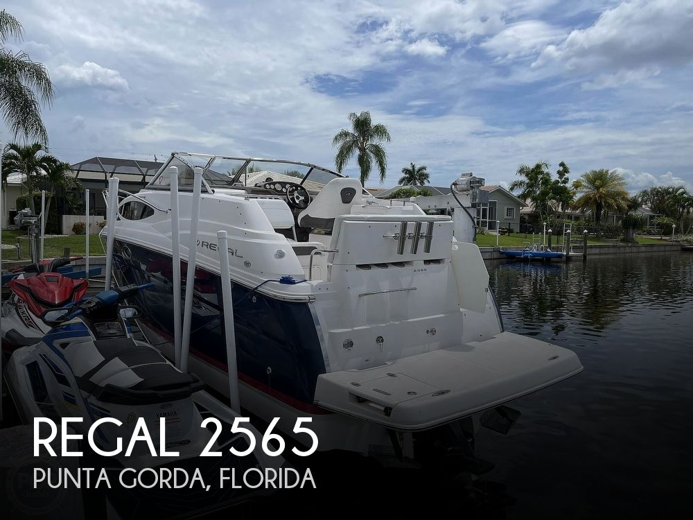 2006 Regal boat for sale, model of the boat is 2565 & Image # 1 of 40