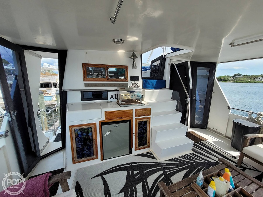 1991 CHB boat for sale, model of the boat is 48 Seamaster & Image # 2 of 40