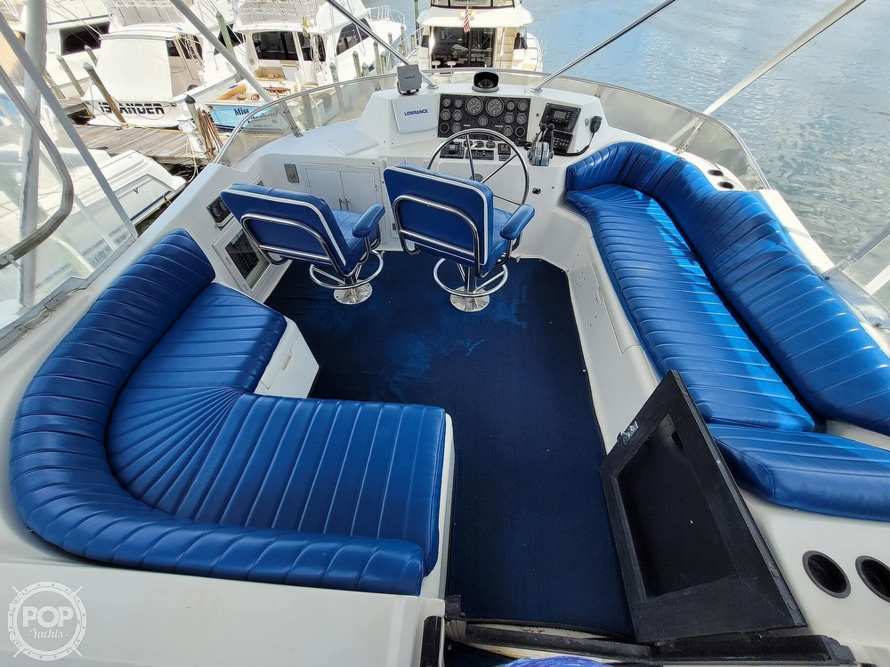 1991 CHB boat for sale, model of the boat is 48 Seamaster & Image # 4 of 40
