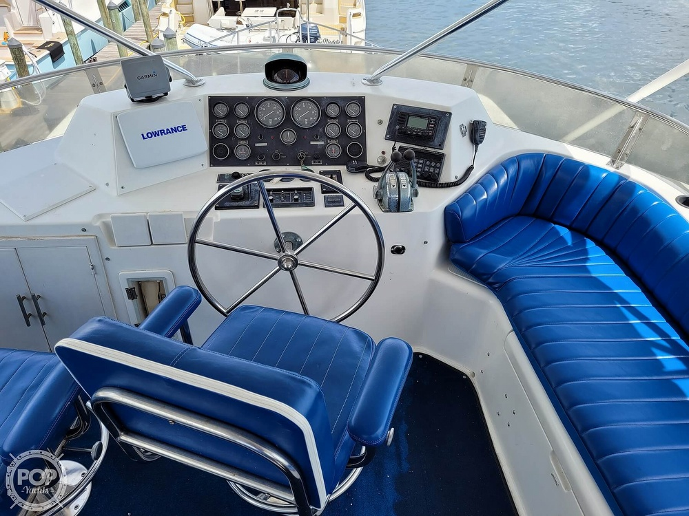 1991 CHB boat for sale, model of the boat is 48 Seamaster & Image # 5 of 40
