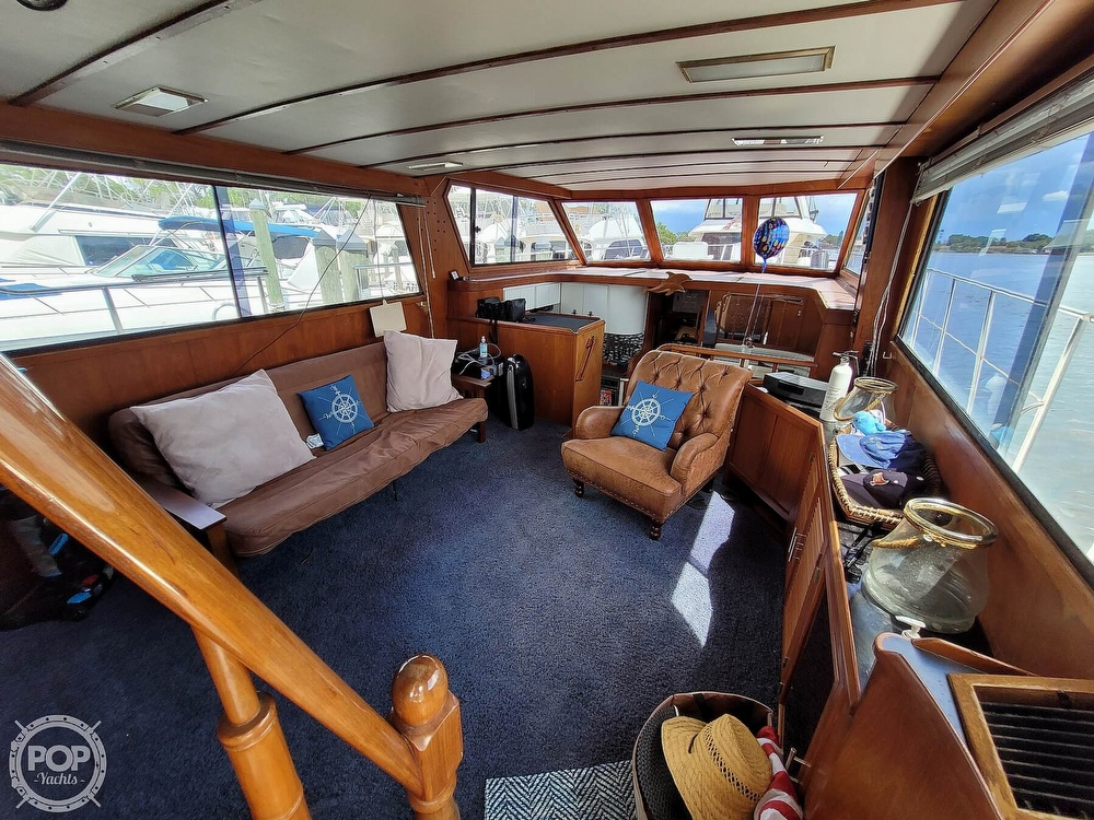 1991 CHB boat for sale, model of the boat is 48 Seamaster & Image # 6 of 40