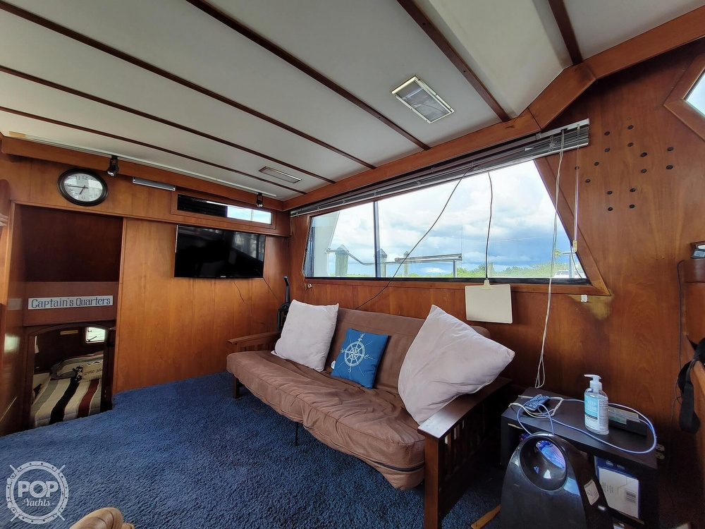 1991 CHB boat for sale, model of the boat is 48 Seamaster & Image # 7 of 40