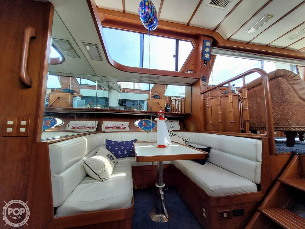 1991 CHB boat for sale, model of the boat is 48 Seamaster & Image # 9 of 40