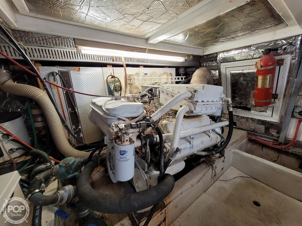 1991 CHB boat for sale, model of the boat is 48 Seamaster & Image # 25 of 40