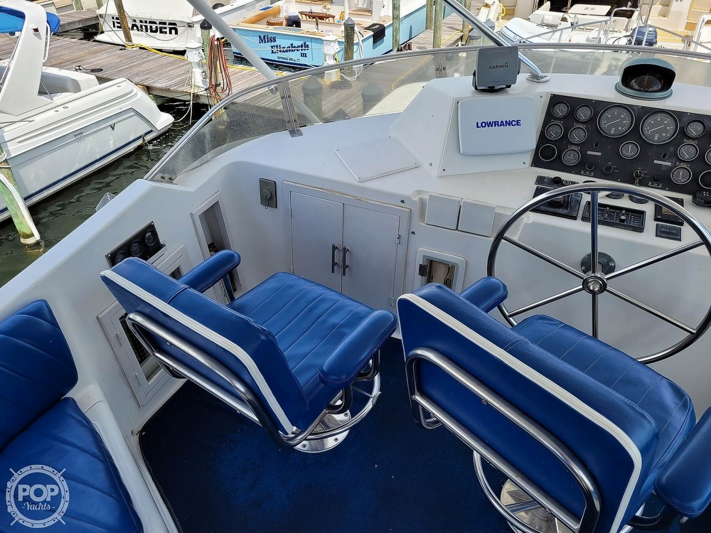 1991 CHB boat for sale, model of the boat is 48 Seamaster & Image # 30 of 40