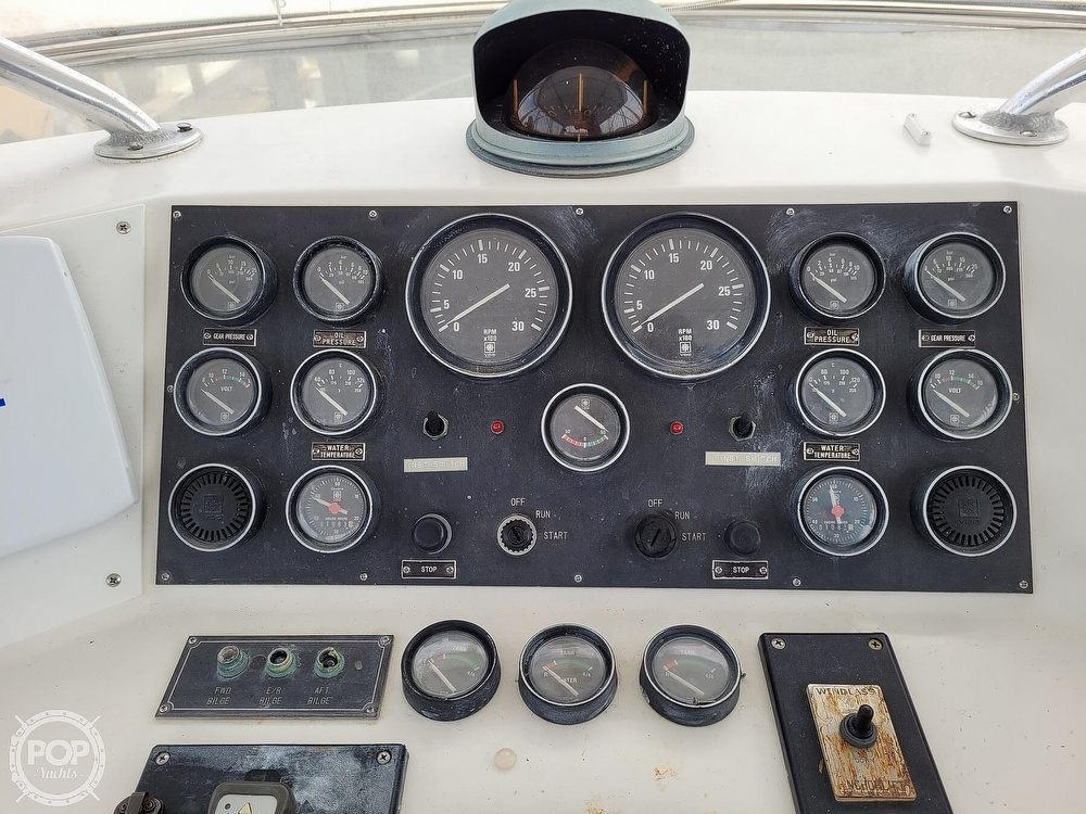 1991 CHB boat for sale, model of the boat is 48 Seamaster & Image # 34 of 40