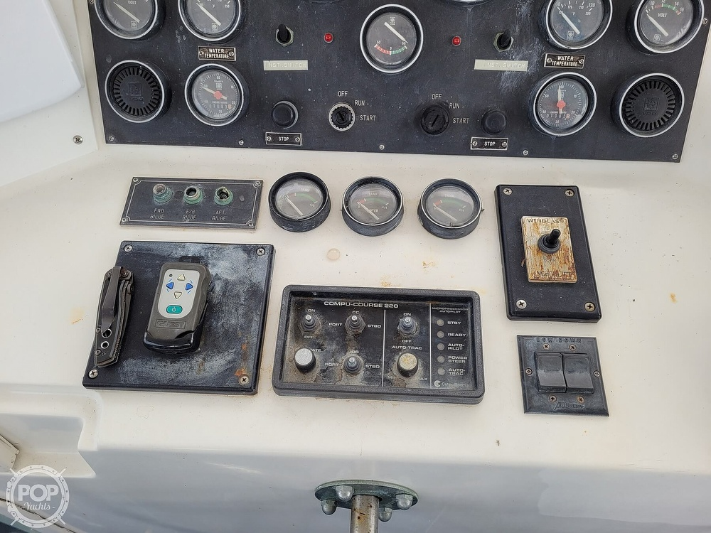 1991 CHB boat for sale, model of the boat is 48 Seamaster & Image # 35 of 40
