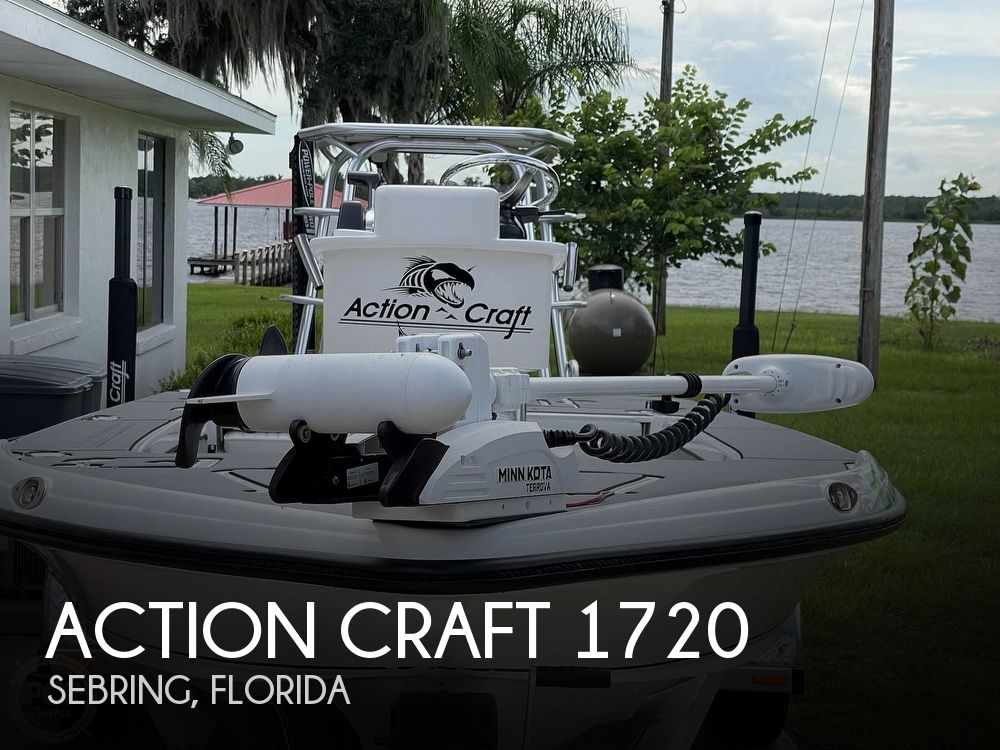 2020 Action Craft boat for sale, model of the boat is 1720 Flyfisher & Image # 1 of 40