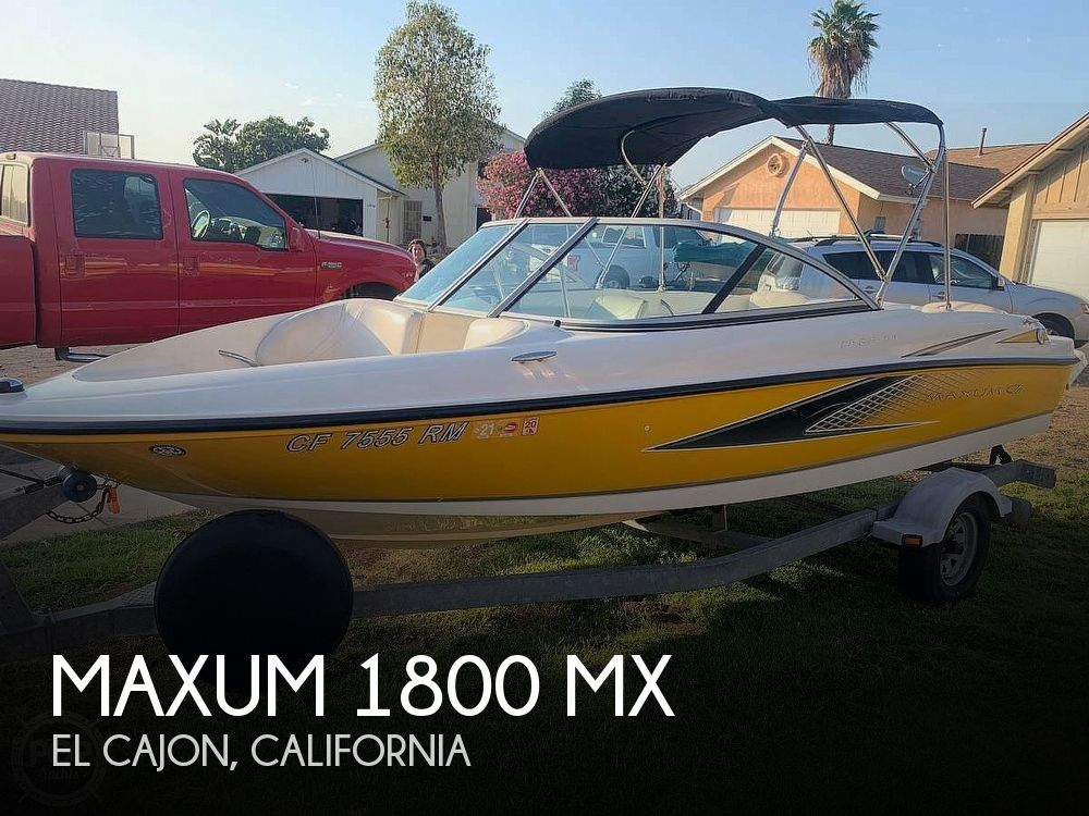 Used Maxum Boats For Sale in California by owner | 2007 Maxum 1800 MX