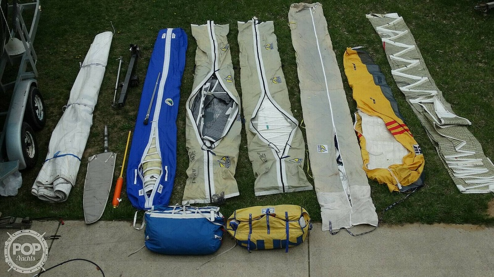1985 Hobie boat for sale, model of the boat is H33M & Image # 14 of 16