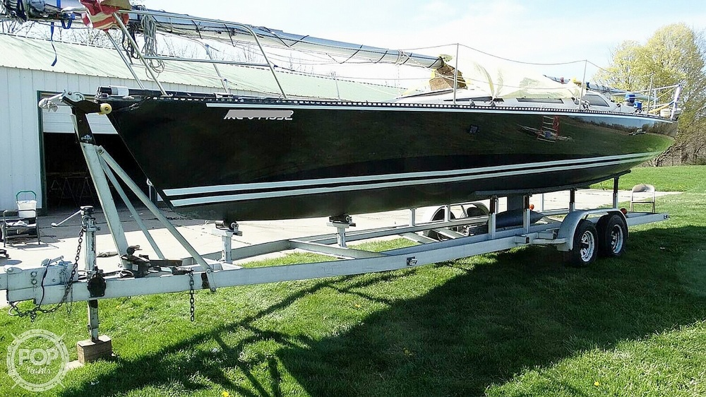1985 Hobie boat for sale, model of the boat is H33M & Image # 4 of 16