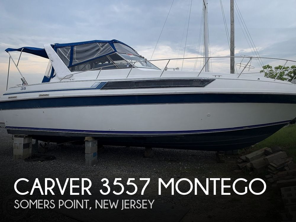 1990 Carver boat for sale, model of the boat is 3557 Montego & Image # 1 of 40