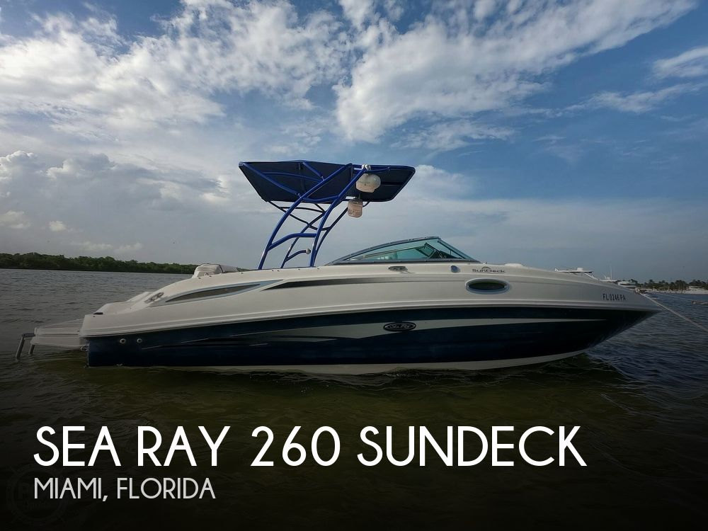 Used Sea Ray 260 Sundeck Boats For Sale by owner   2010 Sea Ray 260 Sundeck