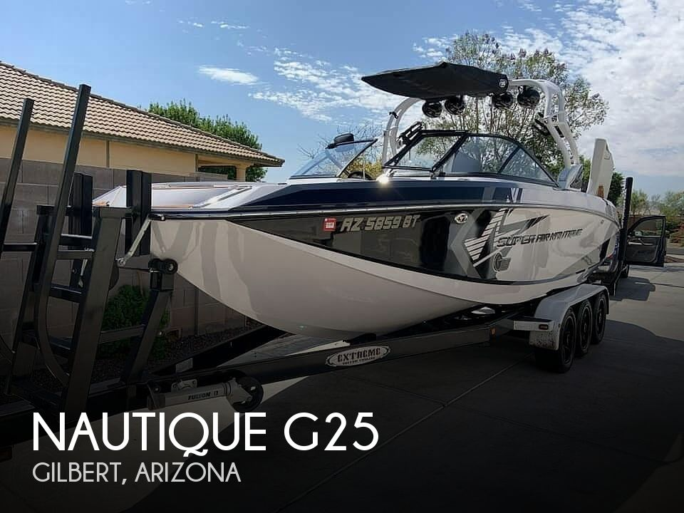 Used Boats For Sale in Arizona by owner | 2014 Nautique G25
