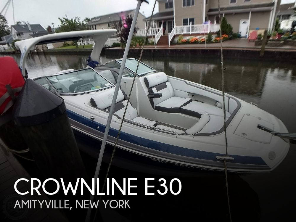 Used Boats For Sale in New York by owner | 2018 Crownline E30
