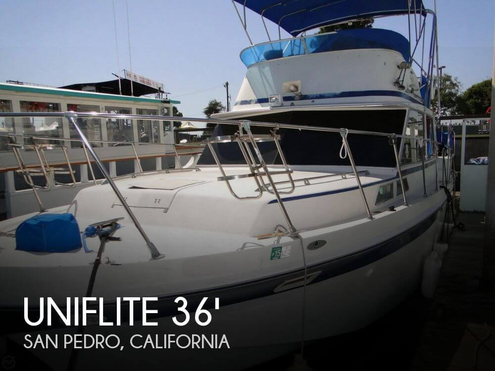 1972 Uniflite boat for sale, model of the boat is 36 Double Cabin & Image # 1 of 40