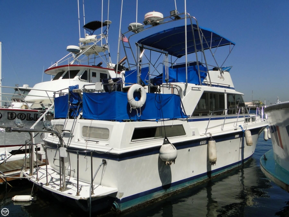 1972 Uniflite boat for sale, model of the boat is 36 Double Cabin & Image # 25 of 40