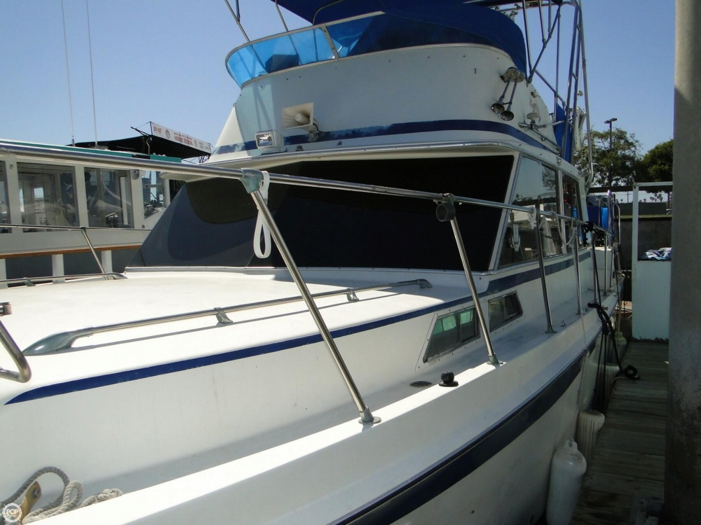 1972 Uniflite boat for sale, model of the boat is 36 Double Cabin & Image # 39 of 40