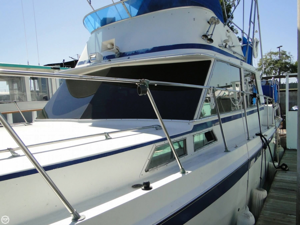 1972 Uniflite boat for sale, model of the boat is 36 Double Cabin & Image # 40 of 40