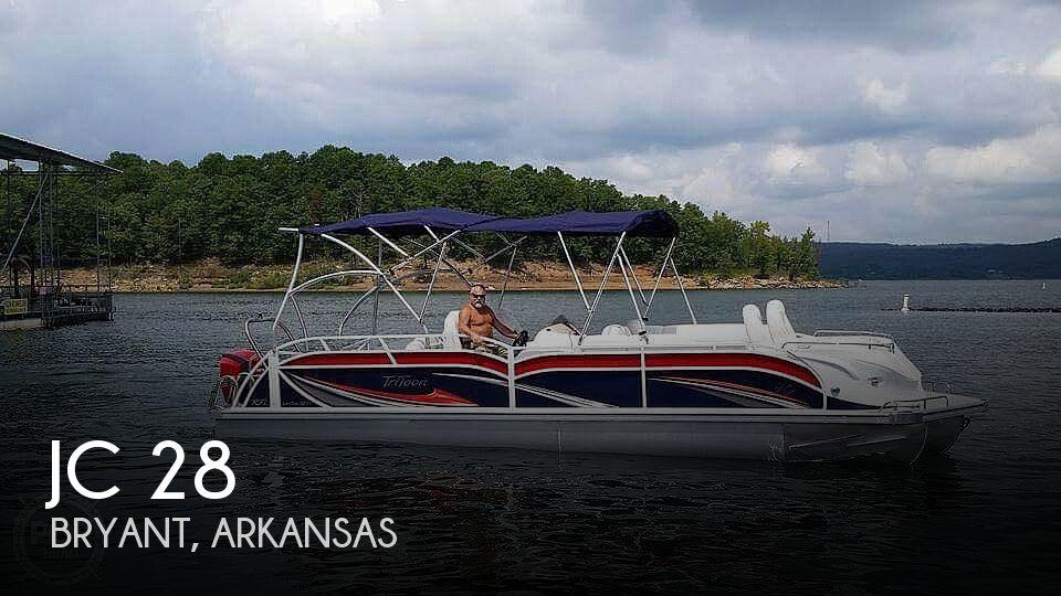 Used Power boats For Sale in Little Rock, Arkansas by owner | 2017 JC 28tt Sporttoon Rfl