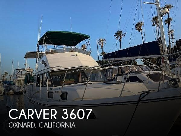 Used Carver 3607 Boats For Sale by owner | 1986 Carver 3607