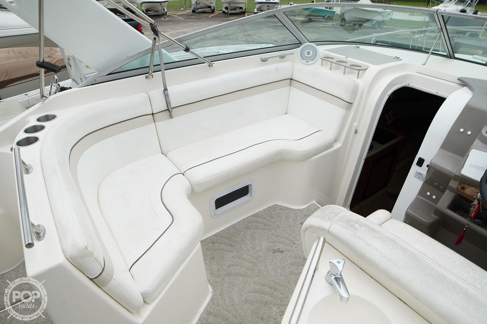 2007 Rinker boat for sale, model of the boat is 270 EC & Image # 20 of 40