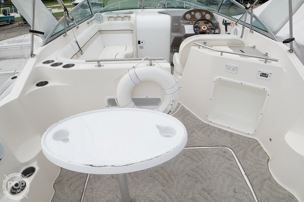 2007 Rinker boat for sale, model of the boat is 270 EC & Image # 24 of 40