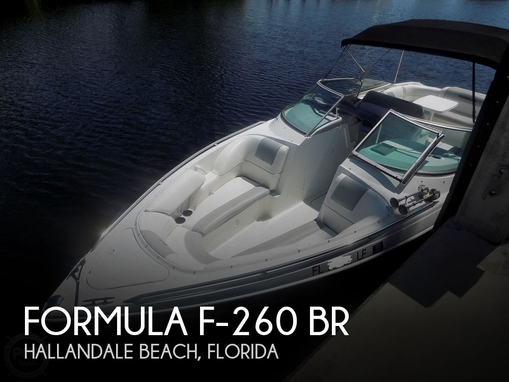 2000 Formula boat for sale, model of the boat is F-260 BR & Image # 1 of 40