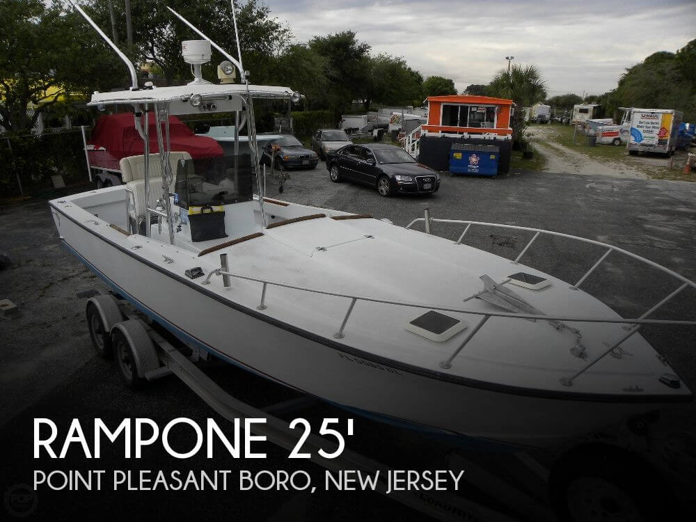 Canceled rampone 25 sport fisherman boat in point for Fishing boats point pleasant nj