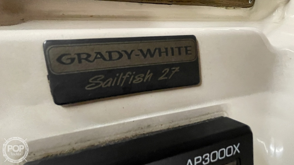 1996 Grady-White boat for sale, model of the boat is 272 Sailfish & Image # 21 of 40