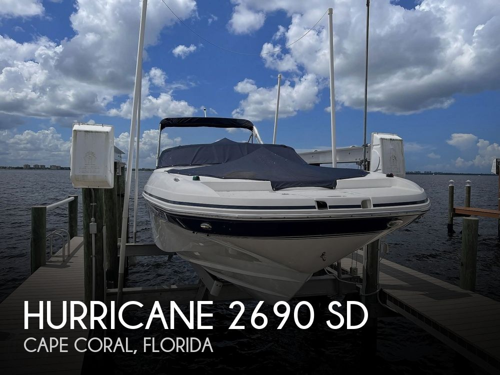 2015 Hurricane boat for sale, model of the boat is 2690 SD & Image # 1 of 40