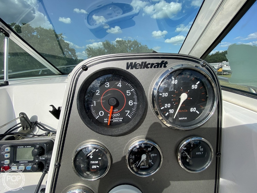 2001 Wellcraft boat for sale, model of the boat is 22 Walkaround & Image # 34 of 40