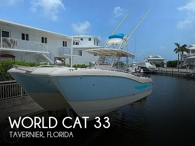 2005 WORLD CAT 33 TOURNAMENT EDITION for sale