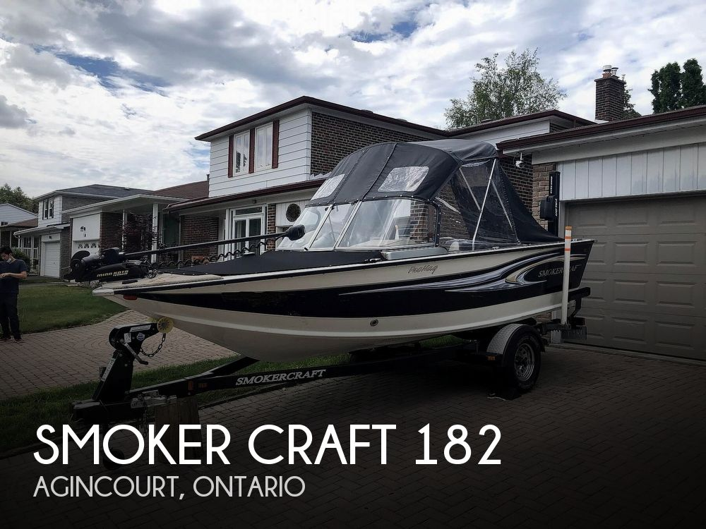 2012 Smoker Craft boat for sale, model of the boat is Pro Mag 182 & Image # 1 of 40