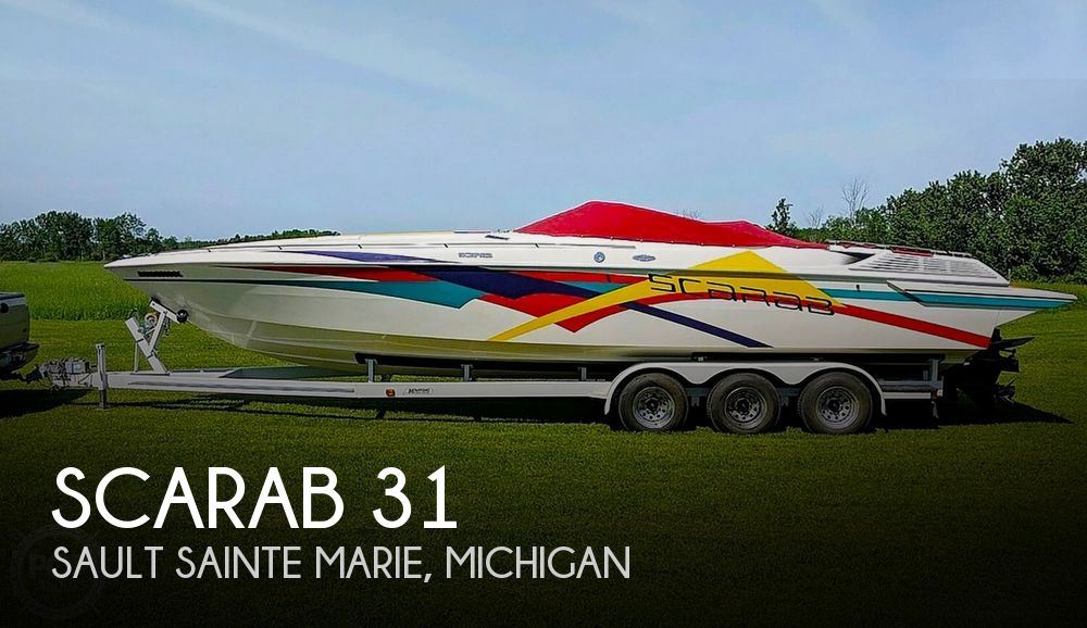Used Scarab Boats For Sale in Michigan by owner | 1992 Scarab 31