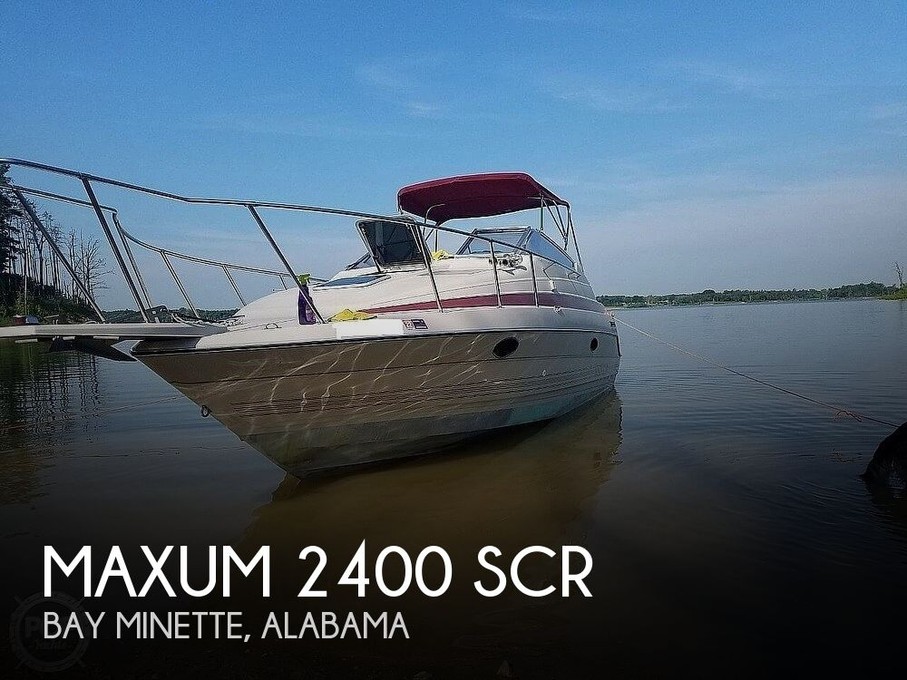 1990 Maxum boat for sale, model of the boat is 2400 SCR & Image # 1 of 40